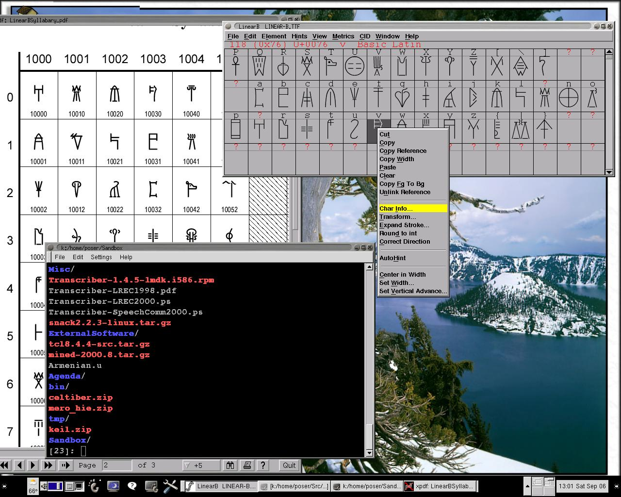 How to Re-encode a Truetype Font as a Unicode Font